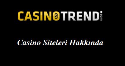 Casino Siteleri Hakkında