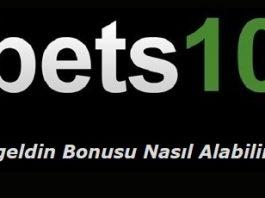 Bets10 Hoşgeldin Bonusu Nasıl Alabilirim?